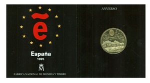 SET 2000 Pesetas 1995 PALACIO REAL MADRID